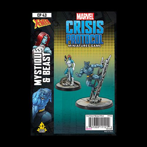 Marvel Crisis Protocol: Mystique & Beast