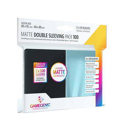 MATTE Double Sleeving Pack 100