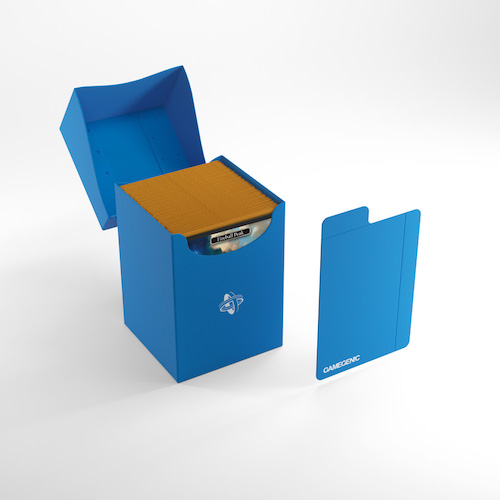 Deck Holder 100+ Card Deck Box: Blue