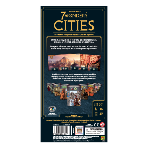 7 Wonders: Cities (New Edition)