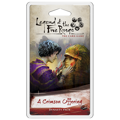 Legend of the Five Rings LCG: A Crimson Offering