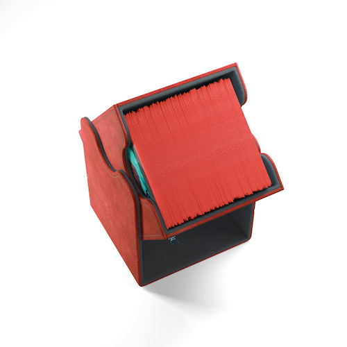 Squire 100+ Card Convertible Deck Box: Red
