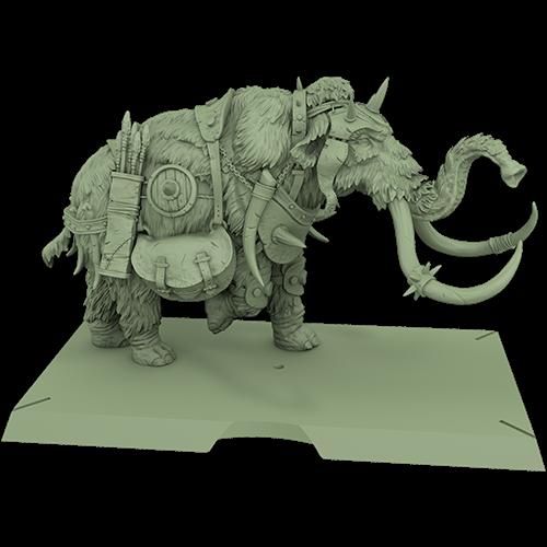A Song of Ice & Fire: Free Folk War Mammoths