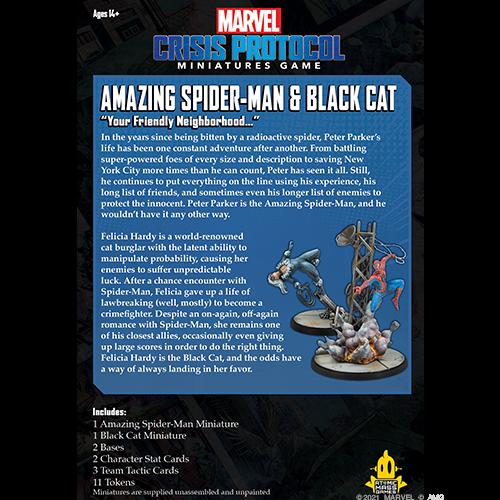 Marvel Crisis Protocol: Amazing Spider-Man and Black Cat