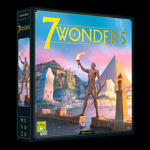 7 Wonders 2nd Edition -  Repos