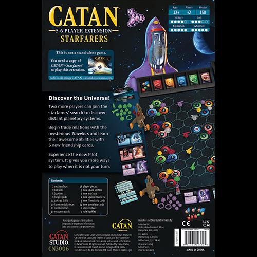 Catan Starfarers: 5-6 Player Extension