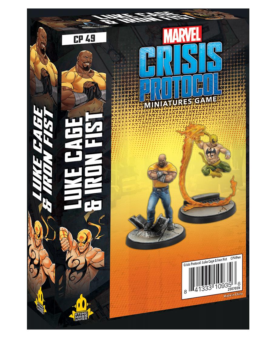 Marvel Crisis Protocol: Luke Cage and Iron Fist