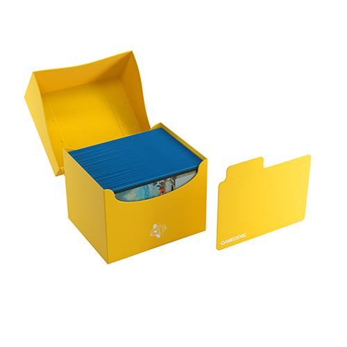 Side Holder 100+ Card Deck Box: XL Yellow