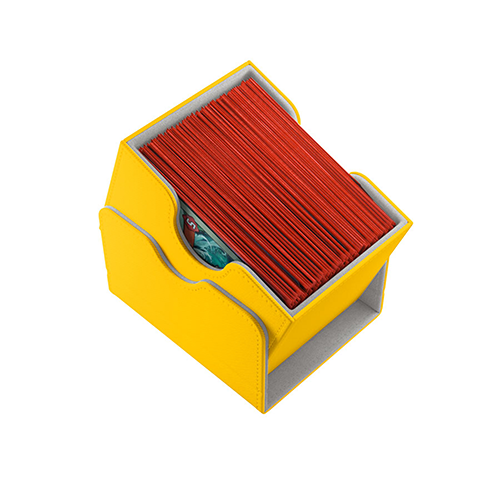 Sidekick 100+ Card Convertible Deck Box: Yellow