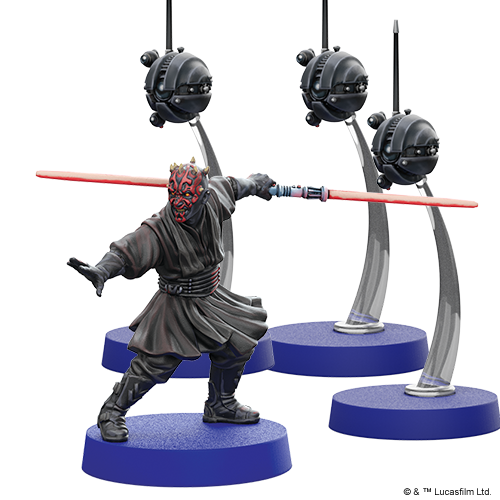 Star Wars Legion: Darth Maul and Sith Probe Droid Operative