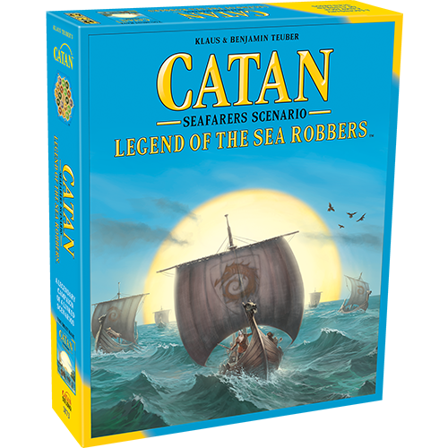 Catan Scenarios: Legend of the Sea Robbers