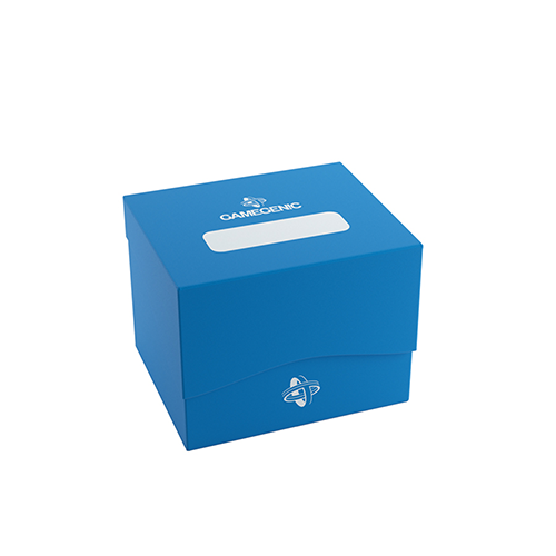 Side Holder 100+ Card Deck Box: XL Blue